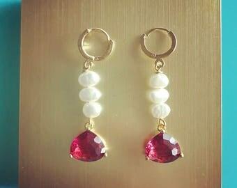La Ruby Earrings