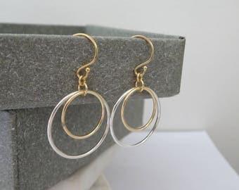 Hoop Earrings, Wire Earrings, Earrings For Women, Simple Hoop Earrings, Large Hoop Earrings, Thin Hoops, Simple Earrings