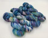 Hand dyed yarn - 4 ply (Fingering) - Synthesis