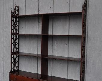 Kittinger Williamsburg CW 37 Mahogany Hanging Shelf