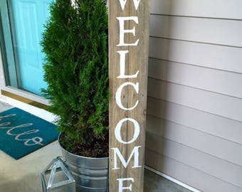 Welcome sign  | pallet wood sign