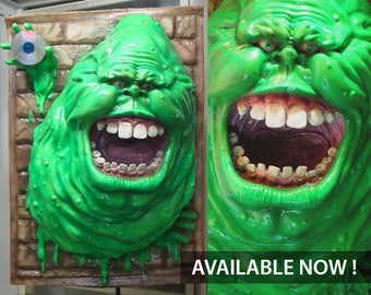 Ghostbuster Slimer Painted.