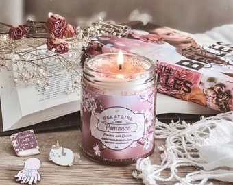 Romance | All Things Romantic Inspired Candle | Peaches & Cream