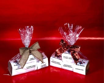 Soap Sampler Small Gift Set Featuring our Natural + Vegan + Organic + Boldly-Scented + Louisiana-Handmade Big Block Soap