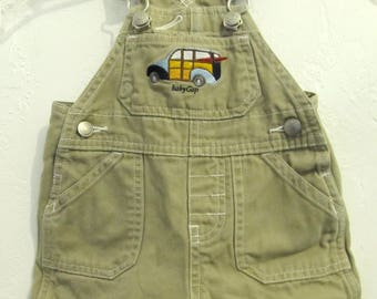 AD0RABLE Vintage 90's Tan Colored SH0RTALLS By BABY GAP.XS(0-3mos)