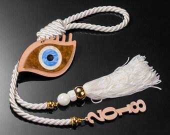 Evil eye lucky charm,New Year's Evil eye lucky charm,christmas gift,good luck,decorative charm