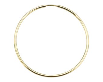 Endless Hoops 40mm - Gold Filled- 6pcs, 10pcss, 20pcs #20840EE