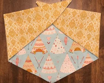 Once Upon A Time - Reversible Tie On Pet/Cat/Dog Bandana/Scarf