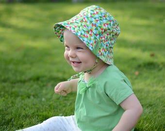 Baby Girl Bucket Hat, Cotton Boys Summer Hat, Kids Bucket Hat, Baby Summer Hat, Toddler Girl Beach Hat, Toddler Girl Sun Hat With Brim