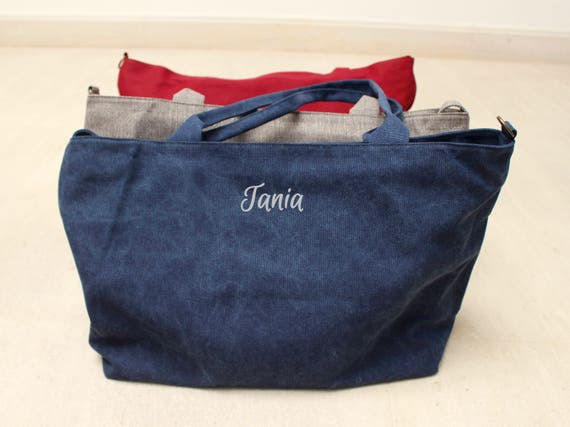 Customized shoulder bag. Shopping bag.