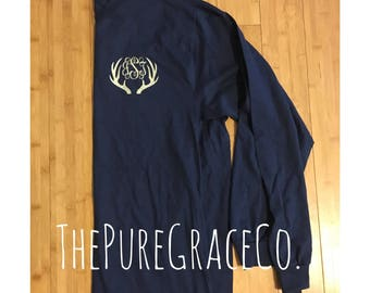 Long sleeve monogram