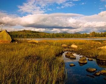 Adirondack Mountains, Cheney Pond, Mountain Photo, Landsape Photography, Adirondack Fine Art, Nature Photography, Minerva New York