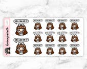 20% OFF L077   Motivation stickers - LALA stickers, Inspiration stickers, Planner stickers, Bullet journal stickers