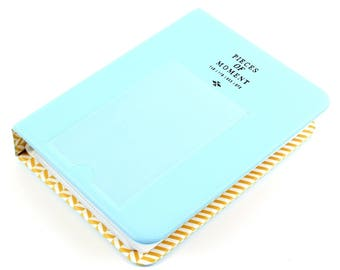 Miayon 64 Pockets Photo Album for Mini Fujifilm Instax Mini 8 7s 25 50s 90 Polaroid & Name Card