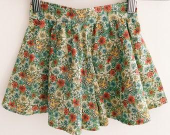 CALLIE Handmade Liberty of London Print Skort (Shorts) Girls Tana Lawn