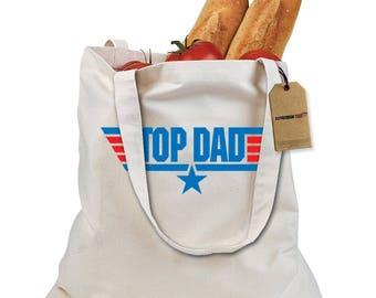 Top Dad - Top Gun Shopping Tote Bag