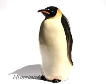Penguin porcelain figurine, statue