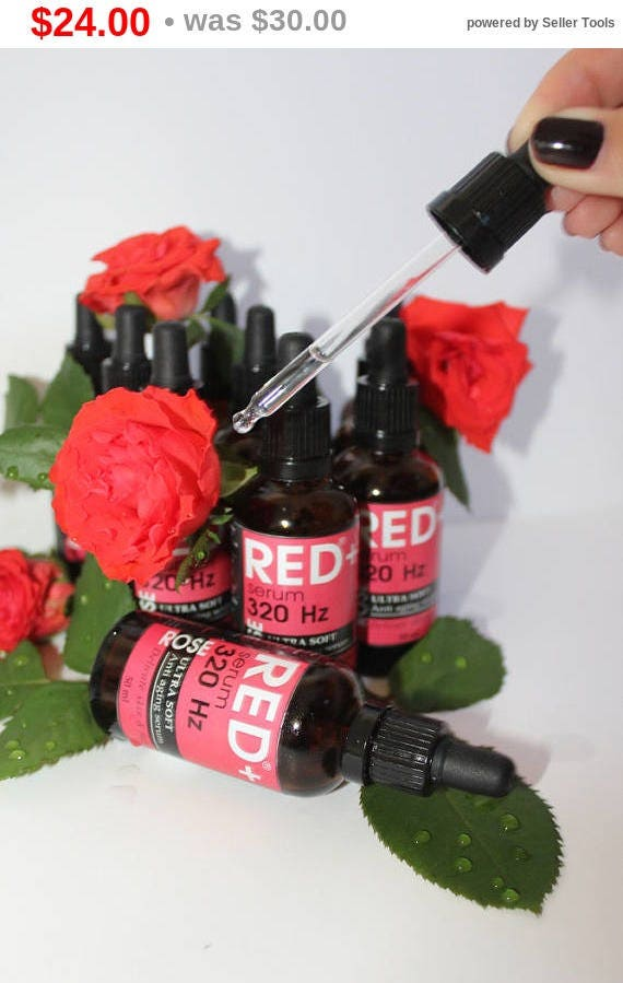 Anti Aging Serum - Rose flower serum and 15 active ingredients