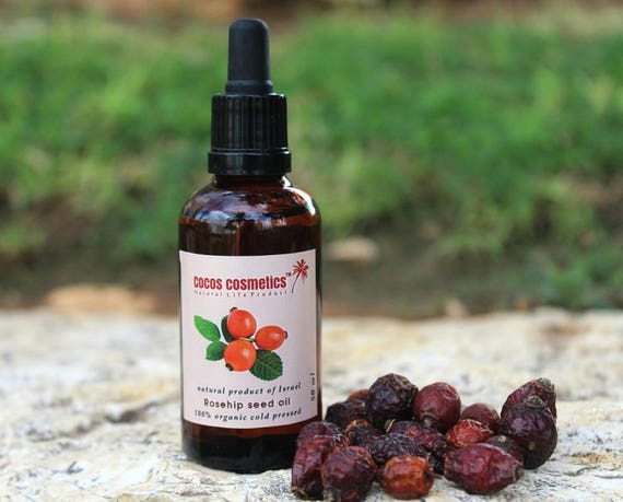 Rosehip seed oil - 100% organic and pure cold pressed unrefined
