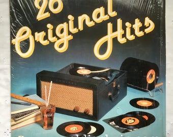 Vintage Vinyl Double LP -26 Original Hits- Sessions Records ARI-1006 1978