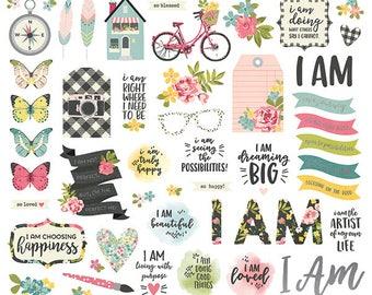 Simple Stories I AM Bits & Pieces