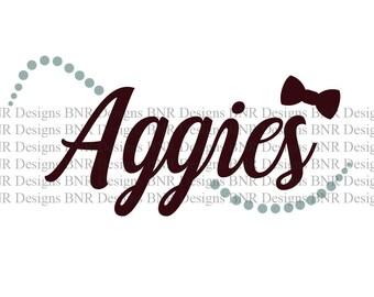 Aggies SVG, TAMU SVG, Texas A&M svg, dxf File, Came File, Cricut File, Silhouette File