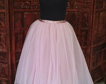 Tulle skirt, formal