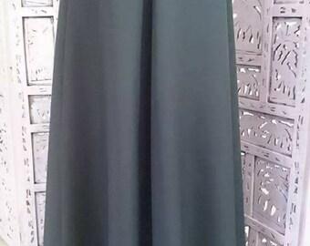 Oil grey skirt