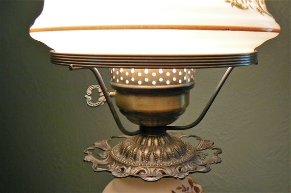 Vintage quoizel hurricane lamp gone with the wind hurricane like this item aloadofball Image collections