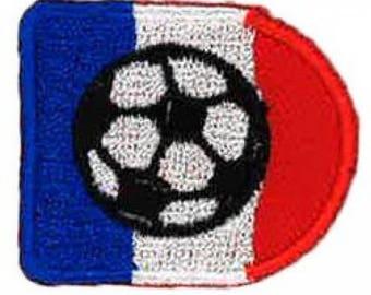 Fusible ball flag 4 x 3 cm