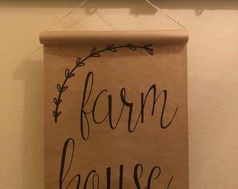 Farm House Scroll Expression