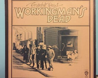 The Grateful Dead - Workingman's Dead vinyl record