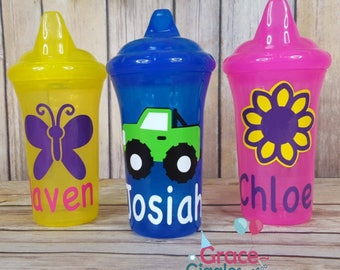 1 Personalized sippy cup