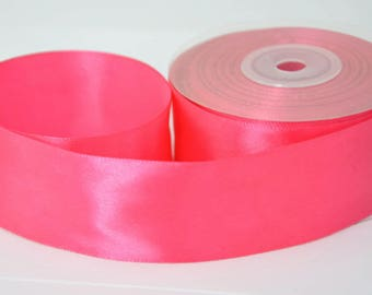 1 m 40mm fuchsia satin ribbon