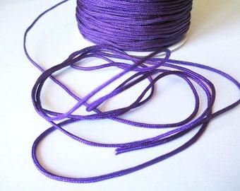 5 m 1.5 mm purple nylon string