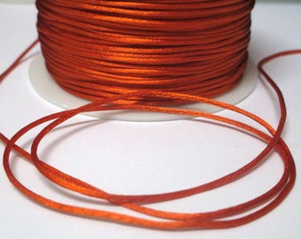 10 m rat tail orange 1 mm
