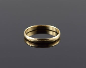 10k 2.9mm Wedding Band Ring Gold