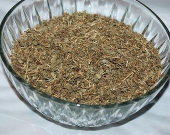 STRAWBERRY LEAF herb, Fragaria vesca.
