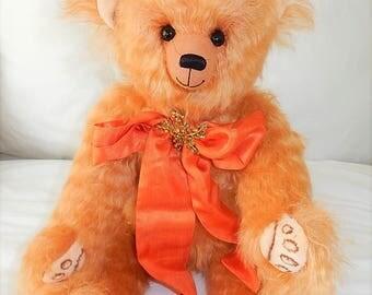 Bekkiebears OOAK artist teddy bear mohair Valentino