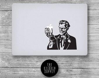 Joker Batman - Macbook Vinyl Sticker Decal