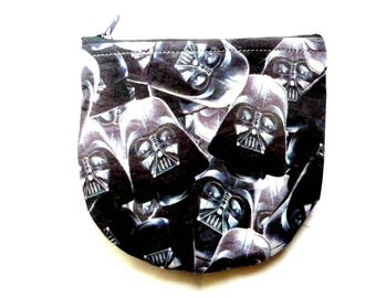 New! pouch with villain made from movie fabric