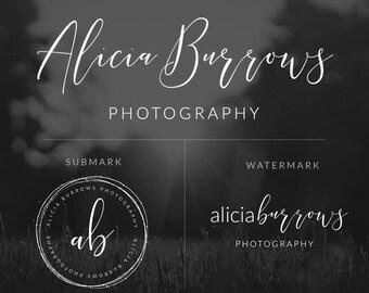 Photography Logo, Business Logo, Logo and Watermark, Watermark, Calligraphy Logo, Blog Logo