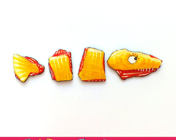 Fish - Artistic magnets