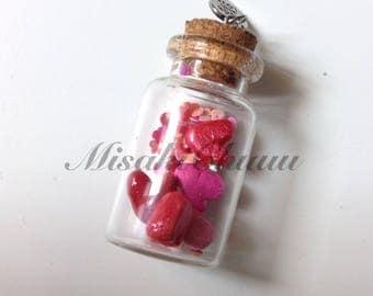 CLEARANCE: Jar of Hearts Bottle Charm