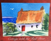 Reserved for purchaser Sandy....Cottage with the Red Door