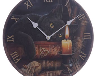 Witching Hour Lisa Parker Clock