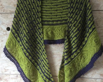 Beautiful thin stole/shawl in baby alpaca.