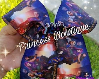 Descendants 2 bows,  descendants bows, cheer bows,  bows, descendants