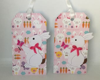 Handmade Easter gift tags (set of 2)