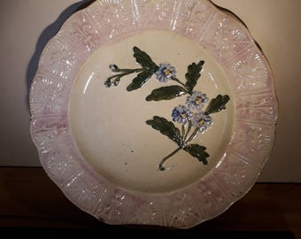 Earthenware plate from Orchies (France)